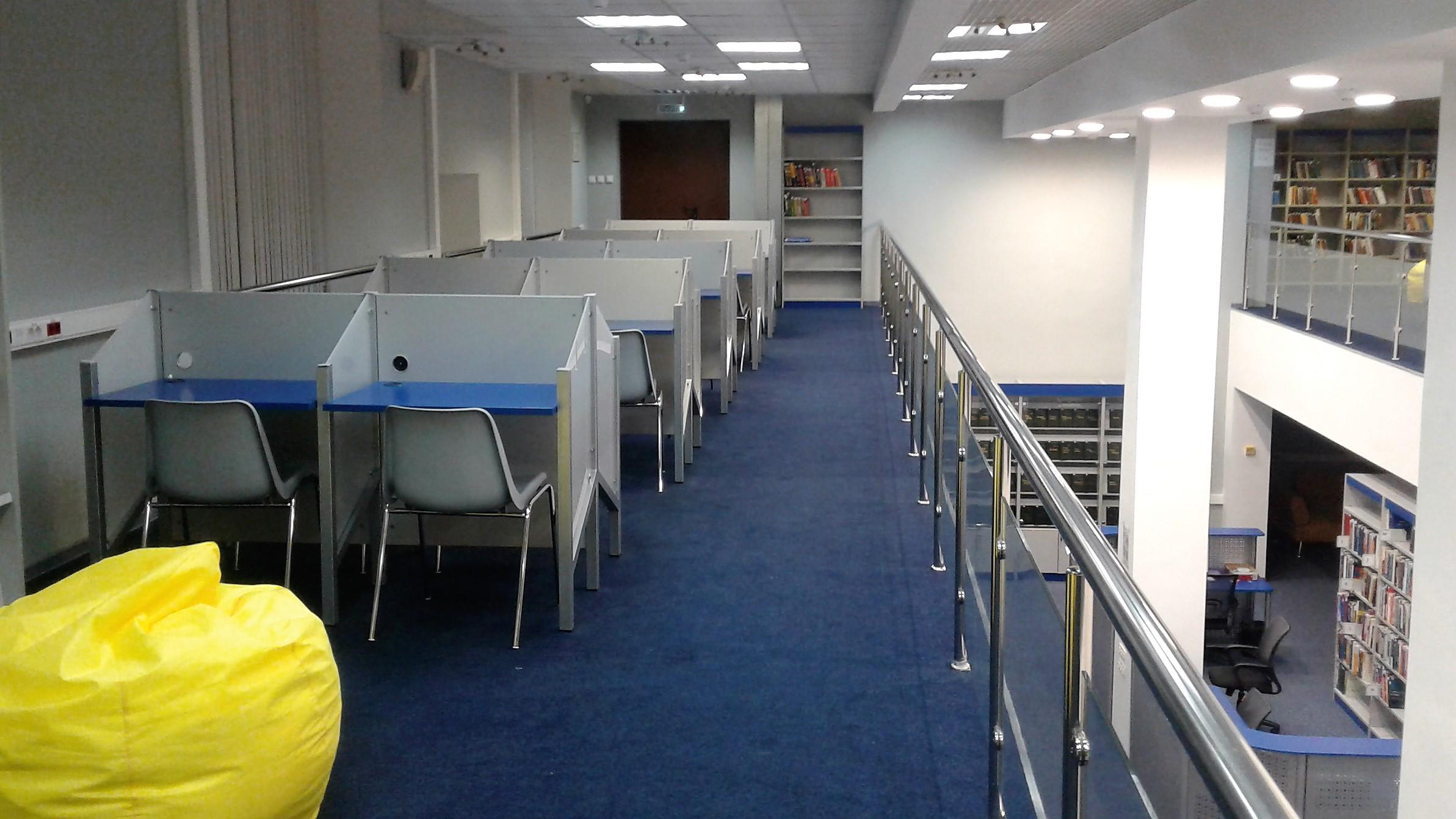 Залы подразделения филиалы Библиотека Национальный  Читальный зал